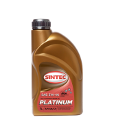 SINTEC PLATINUM SAE 5W-40 API SN/CF синтетика