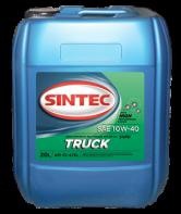 SINTEC TRUCK SAE 10W-40 API CI-4/SL п/синтетика