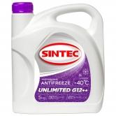 Sintec ANTIFREEZE UNLIMITED G12++ малиновый (-40°С)