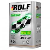 Rolf Energy 10w40 SL/CF п/синт.