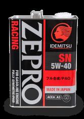IDEMITSU ZEPRO RACING SN 5W40