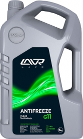 LAVR 1705, 1706, 1707, 1708 Охлаждающая жидкость ANTIFREEZE LAVR -45 G11