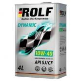 Rolf Dynamic 10w40 SJ/CF п/синт.