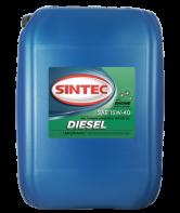 SINTEC DIESEL SAE 15W-40 API CF-4/CF/SJ минеральное