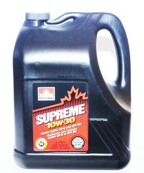 MOSP13C12/16 PC моторное масло SUPREME SAE 10W30  п/синт API SN/CF