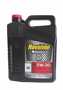 Chevron SUPREME/HAVOLINE 5W30  синт API SM, SL, SJ,SN