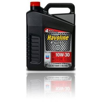 Chevron SUPREME/HAVOLINE SAE  M/O 10W30 п/син  API SM, SL, SJ,SN