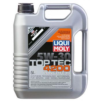 LIQUIMOLY TOP TEC 4200 Diesel 5W30 моторное масло CF