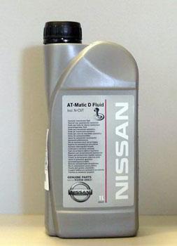 Nissan Matic Fluid D жидкость для АКПП