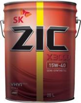 ZIC X3000 15W-40,  мин.API CH-4