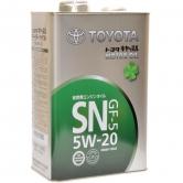 Toyota MotorOil 5W20SN 4л
