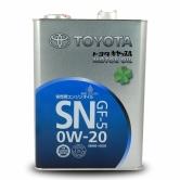 Toyota MotorOil 0W20SN 4л