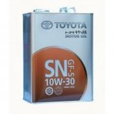 Toyota Motor Oil 10W30 SN 4л