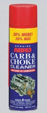 Очиститель карбюратора +20% ABRO CC-220