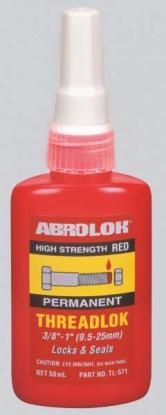 Фиксатор резьбовых соединений ABRO (красный) 50 мл TL-571