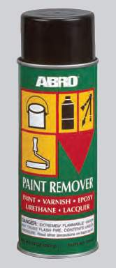 Смывка краски-спрей ABRO PR-600