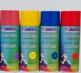 ABRO Masters Краска-спрей SP-053-AM (желтая)