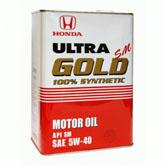 Honda Ultra Gold 5w40 SM синт.