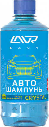 LAVR 2208 Автошампунь-суперконцентрат LAVR Auto Shampoo Super Concentrate Crystal