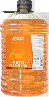 LAVR 2298 Автошампунь-суперконцентрат LAVR Auto Shampoo Super Concentrate Orange
