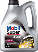 Mobil Super 2000 X1 10W40,  п/синт.  API SL/CF
