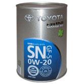 Toyota Motor Oil SN 0w20 О.Е.М. синт.