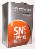 Toyota Motor Oil SN 10w30 синт.